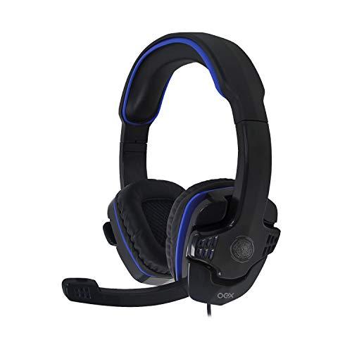 Hs209 headset stalker, oex, microfones e fones de ouvido, preto/azul.
