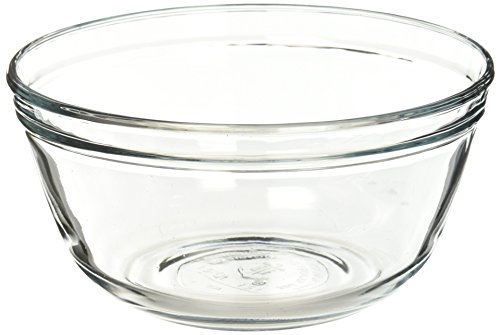 Anchor Hocking Glass Mixing Bowl, 1.5-Quart, Clear