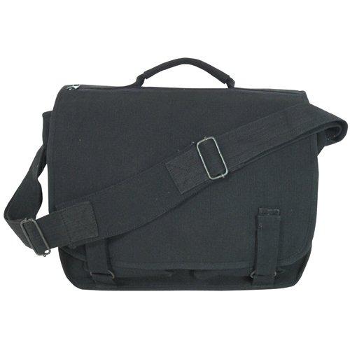 Fox Outdoor Products Danish School Bag, Black