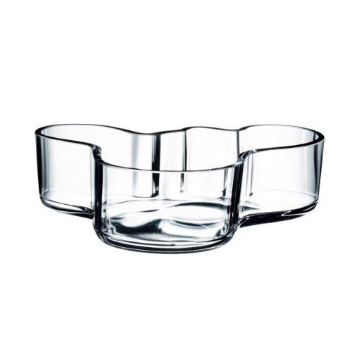 Iittala Schale Aalto 50 x 195 mm Klar aus Glas