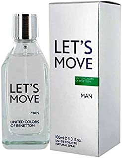 Let's Move by Benetton for Men - Eau de Toilette, 100ml