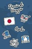Diario di Viaggio Osaka: Diario di viaggio da compilare | 106 pagine, 15,24 cm x 22,86 cm | Per accompagnarvi durante il vostro soggiorno (Italian Edition)