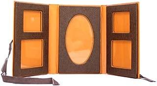 【中古】エルメス 写真立て パルファン フォトフレーム オレンジ/ブラウン 紙製