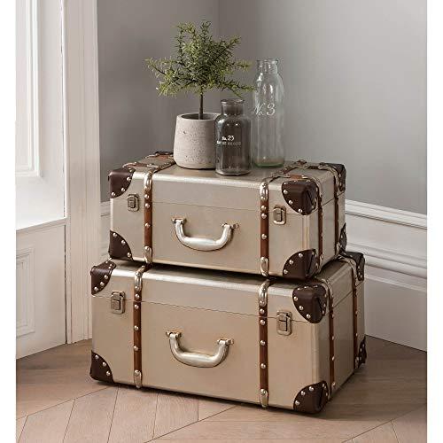 homesdirect365 Set Of 2 Storage Boxes