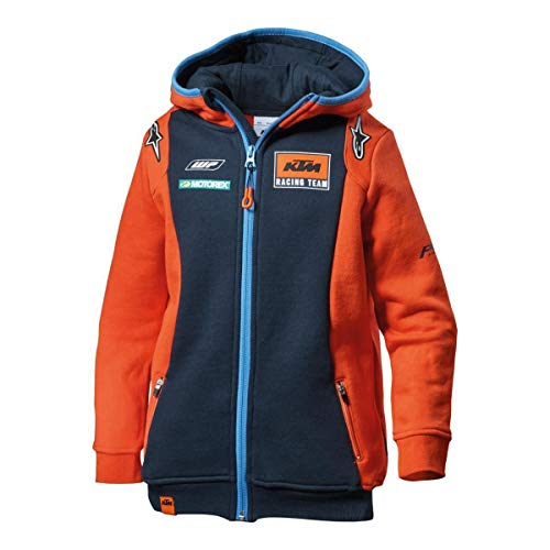 KTM Kids Replica Team Zip Hoodie M Original PowerWear