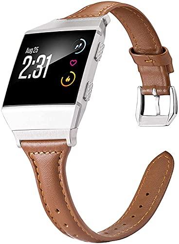 Classicase Correa de Reloj Compatible con Fitbit Ionic, Blando Silicona Narrow Delgada Deporte Reemplazo Pulsera (Pattern 1)