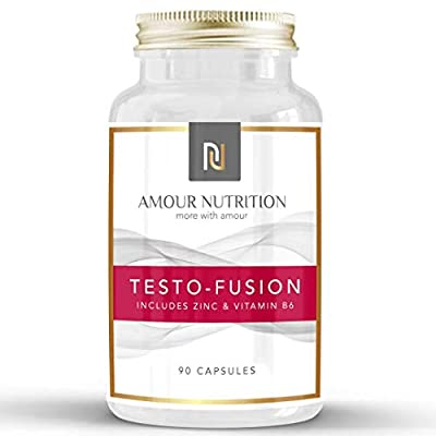 High Strength Testosterone Supplement - Testosterone Booster for Men, Supports Testosterone Levels, D Aspartic Acid, Fenugreek, UK Made from Amour nutrition