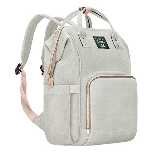 Lifecolor Diaper Bag Nappy Bags Waterproof...