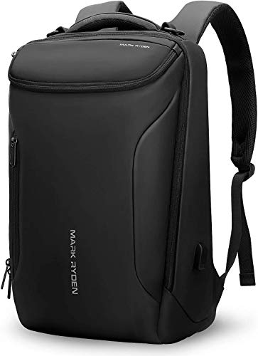 MARK RYDEN Backpack Large- Capacity and Water-Proof Business Bags for Men with USB Charging Port for School Travel Hiking Pack Fits Under 17.3 Inch Laptop
