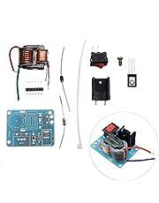 Landa tianrui 15KV de Alta frecuencia CC de Alta tensión de Arco de Encendido Generador Inversor Boost Step Up 18650 DIY Kit T núcleo del Transformador Suite de 3.7V (Size : DIY Kit)