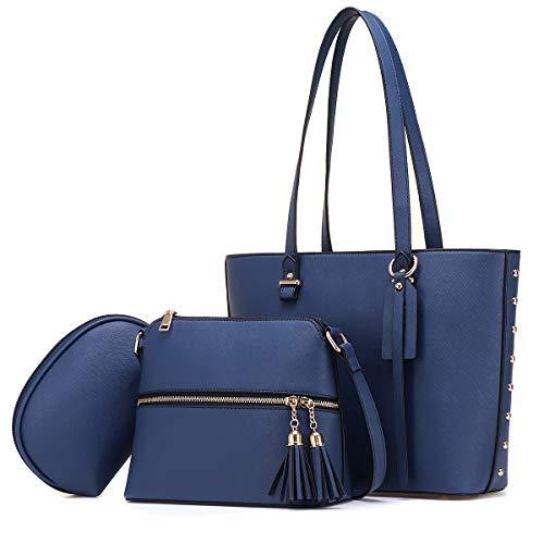 JOSEKO borsa da donna, borsa a tracolla, borsa a tracolla, misura grande,...