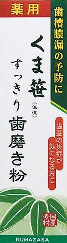 エキゾチック構成する宿題をする薬用くま笹すっきり歯磨き粉 120g