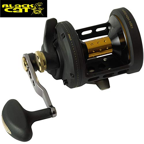 Carrete de pesca Black Cat Buster LH BCB 650