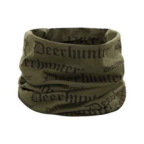 Deerhunter Logo Neck Tube OSFA Green OSFA Green OSFA Green Sturmhaube, Masken & Tubes