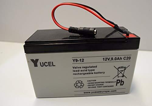 Waverunner Heavy Duty Battery which fits the Atom Bait Boat (Black Plug)
