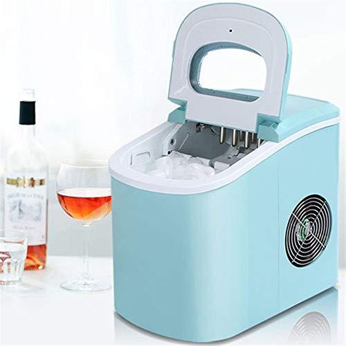 A-myt Fabricación de Hielo rápido MAKETER DE Ice Comercial HOGAR Portable MAQUETAD DE Hielo DE Ice 15 KG / 24H Tienda de cafetería Satisfaga su Demanda fría (Color : Blue, Size : AU Plug)