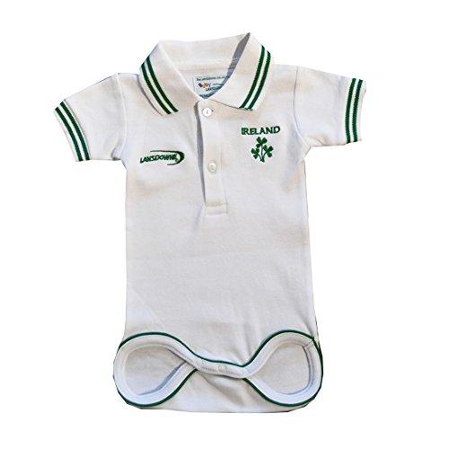 weiße Kinder Irland Rugby Hemd, Weiß, 6 - 12 Months