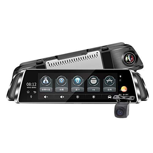 WOVELOT Espejo G07 CáMara AutomáTica 10 Pulgadas 4G Espejo Retrovisor Grabador de Video HD1080P GPS Navigatie Android WiFi Auto Dash CAM