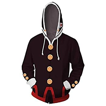 COSAUG Toilet-Bound Hanako-kun Costume Hanako Hoodie,Size XL Black