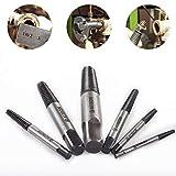 HOHXEN 6pcs Screw Extractor Kit Damage Broken Bolt Removal Tool Set