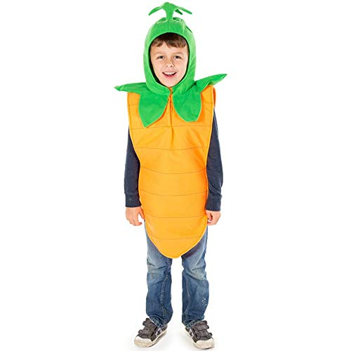 Enfants Carotte Fancy Dress Costume 3-5 ans [Jouet]