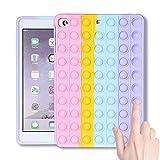 Qerrassa Color Bubble Classic Silicone Case for iPad Mini