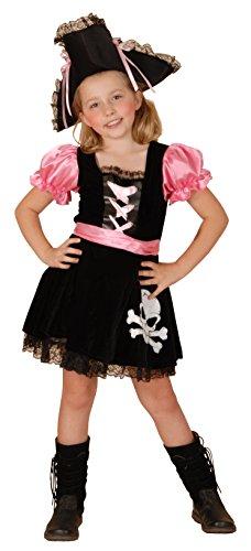 Rire Et Confetti - Fiapir017 - Déguisement pour Enfant - Costume Sweet Pirate Luxe - Fille - Taille S