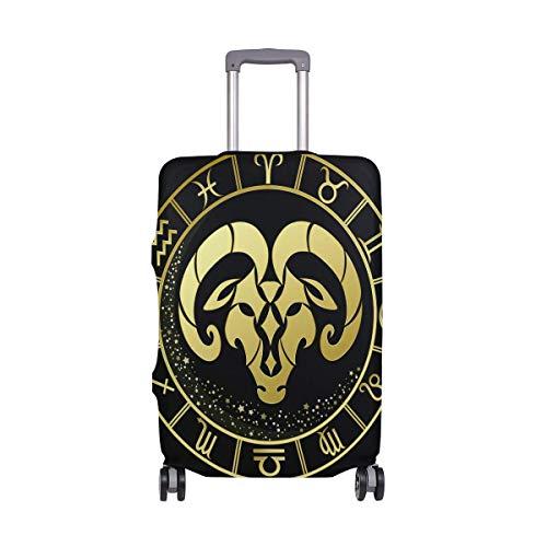 Aries Signo del Zodiaco Símbolo Funda para Equipaje Equipaje Maleta Protector de...