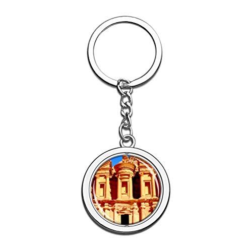 Monasterio Petra Jordan Llavero Llavero de recuerdo...