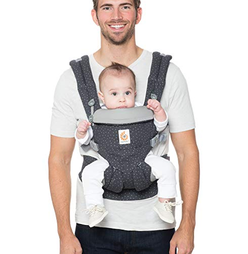 Ergobaby Baby Carrier, Omni 360 All Carry Positions Baby Carrier, Starry Sky