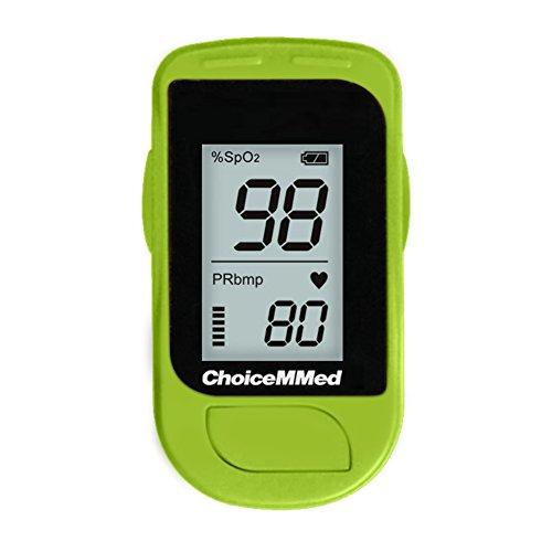 ChoiceMMed oxímetro de pulso de dedo con diseño pequeño y diseño ligero