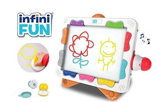 Infini Fun, ma première œuvre d'art avec le Xylopad, jouet créatif, jouet premier âge, dessin,...