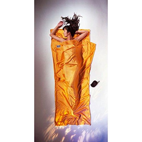 Cocoon Hüttenschlafsack aus Seide, sunset, 86