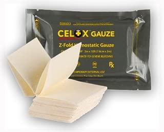 Celox Z-Fold Gauze (3in x 10' (7.6cm x 3m))