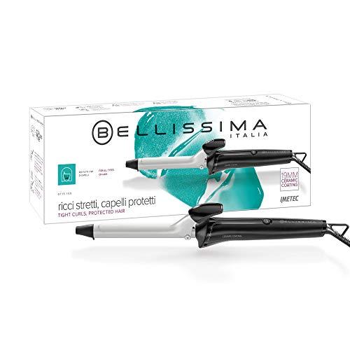 Imetec Salon Expert GT15 100 Rizador de pelo, rizos brillantes y definidos, diámetro 19.mm, revestimiento de cerámica, calentamiento rápido listo para su uso, negro