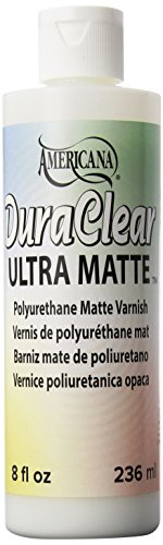 Deco Art Americana DuraClear Ultra matte-8oz, andere, Mehrfarbig