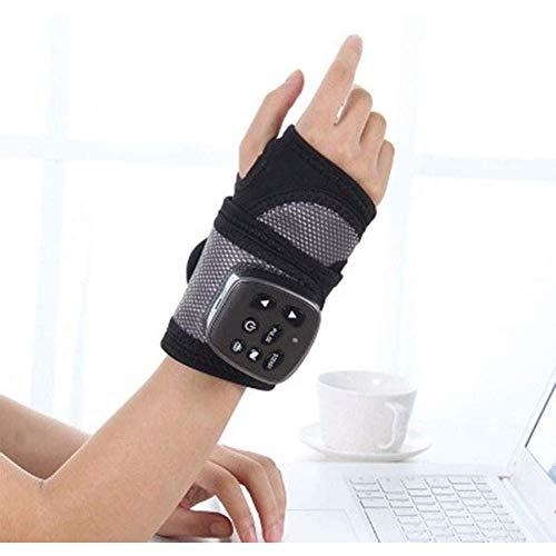Masajeador eléctrico de mano, envoltura calentada para manos y muñecas, con calefacción,...