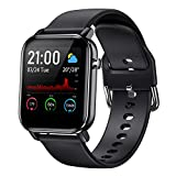 COULAX Smart Watch, Fitness Tracker with 1.4' Touch Screen, Activity Tracker with Blood Oxygen Monitor, Step Counter with Locus Tracking Map, Sport Watch with Heart Rate Monitor for Women and Men