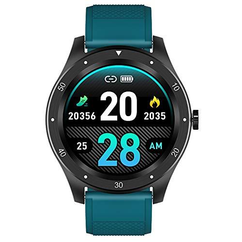 Smartwatch, hartslag, bloeddruk, slaap, gezondheidsbewaking, intelligente informatieherinnering, stappenteller voor hardlopen, smartwatch met volledig touchscreen,A