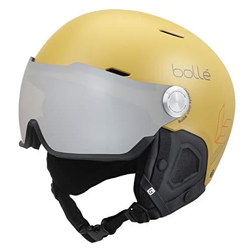 Bollé Unisex– Erwachsene Might Visor Skihelme Yellow 59-62 cm