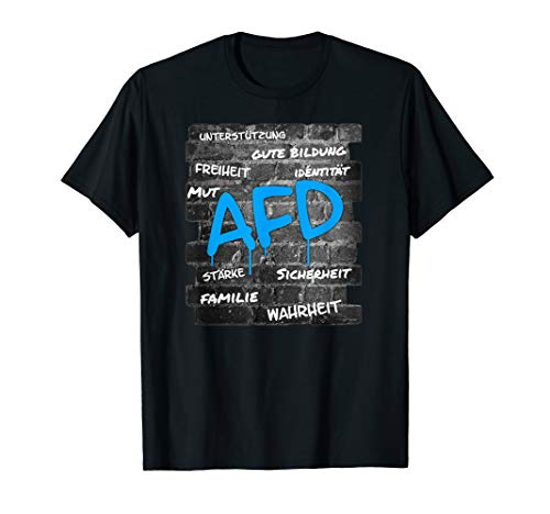 AFD   Pro AfD   Alternative für Deutschland   Partei Wähler T-Shirt