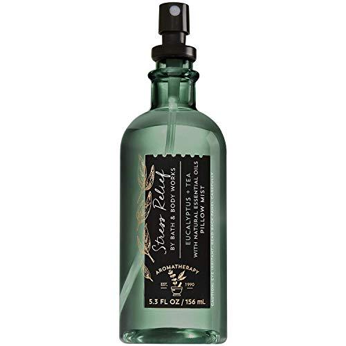 Bath & Body Works Aromatherapy Stress Relief - Eucalyptus Tea Pillow Mist, 5.3 Fl Oz , with Natural Essential Oils