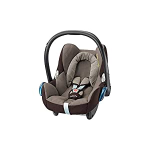 Maxi-Cosi CabrioFix, Silla de auto, reclinable y seguro para bebé, 0-12 meses, 0-13 kg, Nomad Blue (azul)