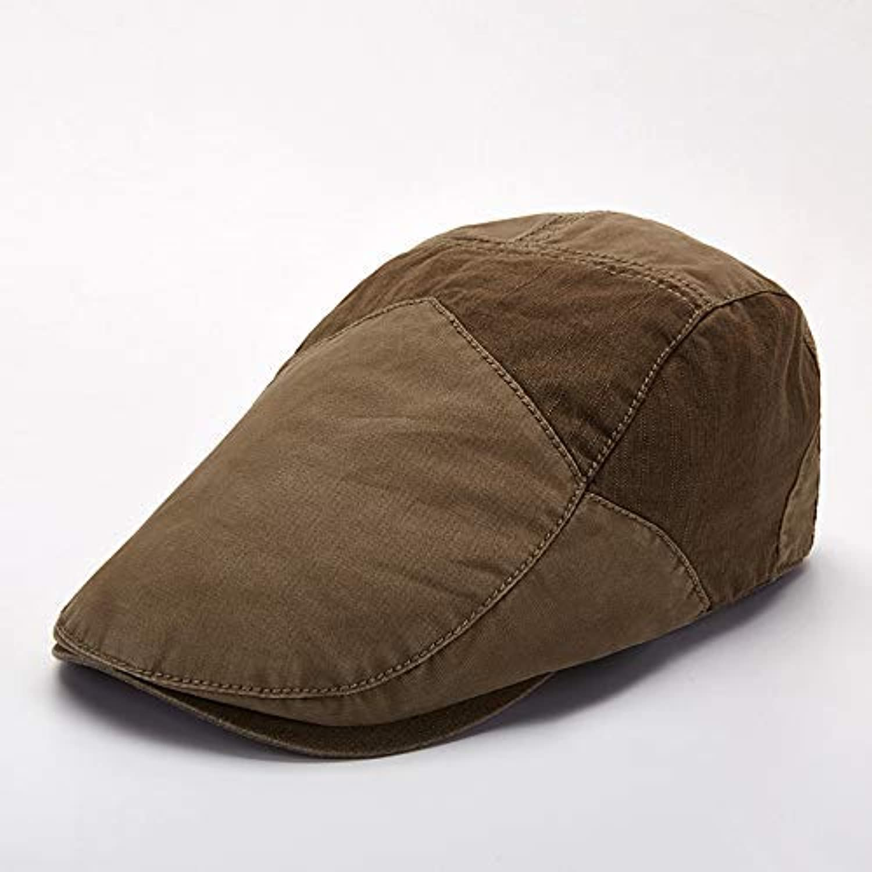 Kuoshanstore Hat male summer casual wild cap trend beret solid fashion forward cap
