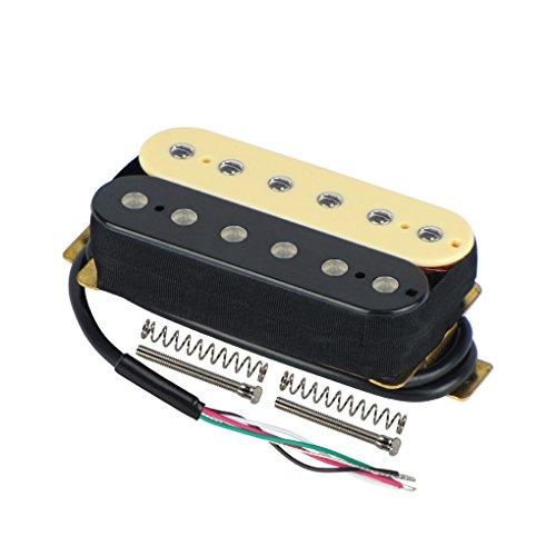FLEOR Pastillas de puente de guitarra Humbucker de doble bobina Imán de...