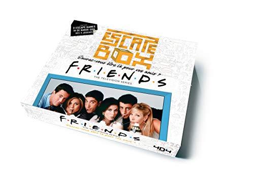 Escape Box FRIENDS - Escape game officiel F.R.I.E.N.D.S adulte de 3 à 6 joueurs - Dès 14 ans et adulte