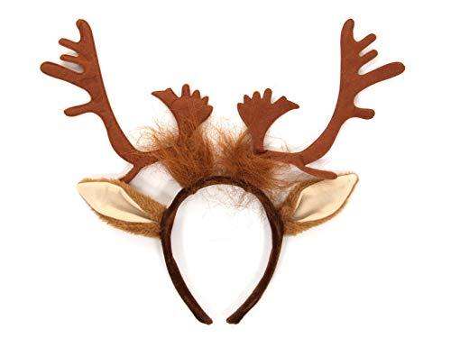 Reindeer Antlers Costume Headband