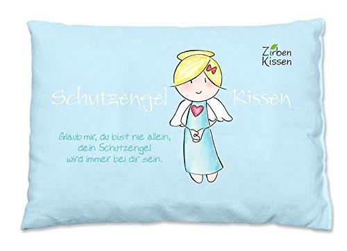 Engel Zirbenkissen: Schutzengel-Kissen - Glaub mir, du bist nie allein, dein Schutzengel wird immer bei dir sein