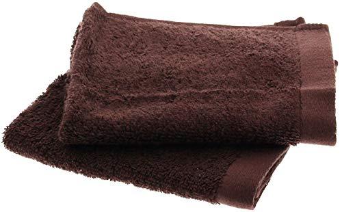 ハンドタオル 神様のタオル 高級スーピマ綿を使ったプレミアム 2枚入り チョコレート SH003