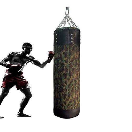 FDOI Boxsack, Sanda Hanging Canvas Boxsack, Kinder Training Fitness Boxsack, Camouflage, 150cm